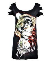Sullen Envy Skinny Fit T Shirt (Black)  #tattoos