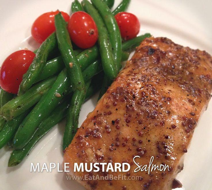 Maple-Mustard Grilled Salmon Recipe — Dishmaps