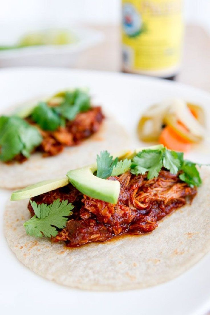 Braised Chicken Tacos | Loco for Tacos!! | Pinterest