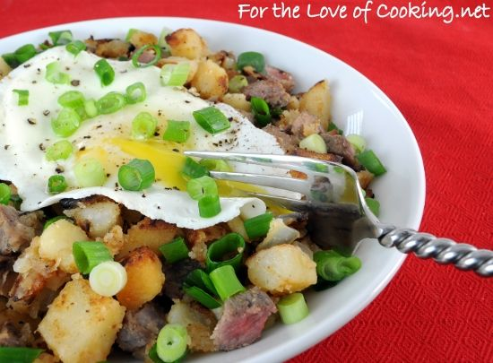 Steak Hash | MAN FOOD | Pinterest