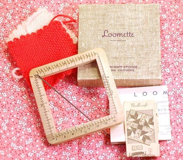 Vintage Loomette weaving loom by wondertrading, via Flickr