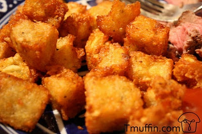 Homemade Tater Tots- this recipe solves the problem of getting the ...