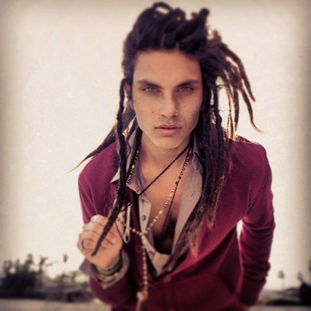 Guys and their dreads.. | Glorious Locks | Pinterest