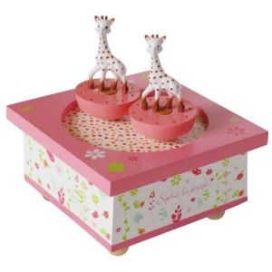 Sophie The Giraffe Trousselier Spinning Music Box | Becky & Lolo