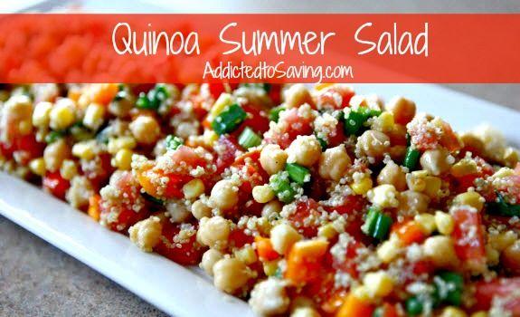 Quinoa Summer Salad Recipe | Quinoa | Pinterest