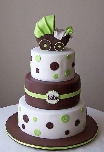 Green/Brown Cake