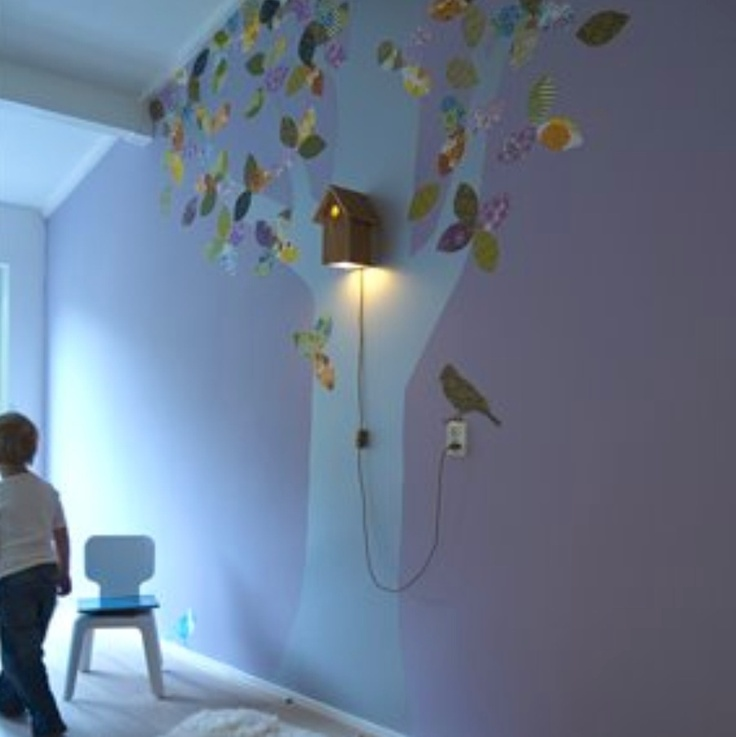Great Nursery Night Light Idea Baby Boy Room Decorations