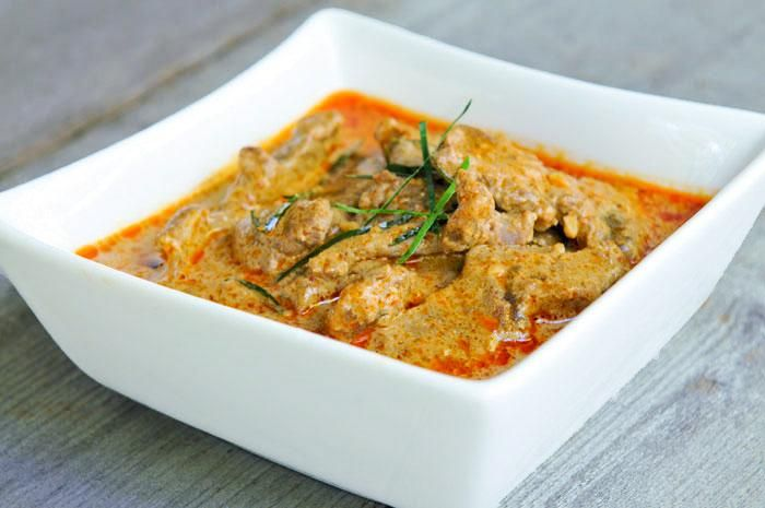 Thai Food Recipes: Thai Panang Curry with Beef