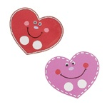 Preschool finger puppet craft-would be cute to use heart shapes for dimples and add accordion folded paper for arms and legs with heart hands and feet!