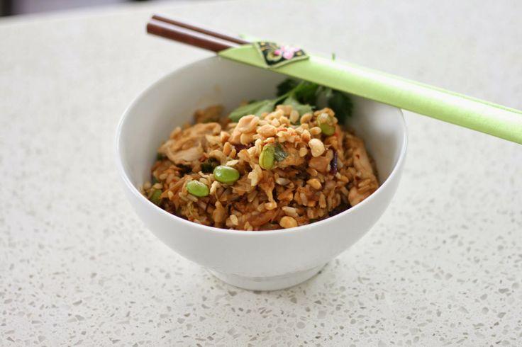 femme   eng: Thai Chicken Rice Bowls   eat   Pinterest