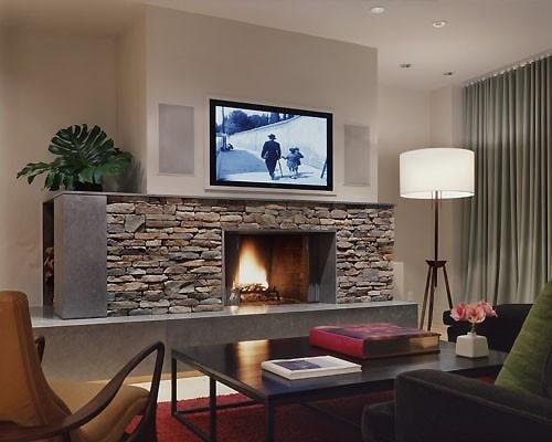 Basement Fireplace Basement Inspiration For The Home Pinterest