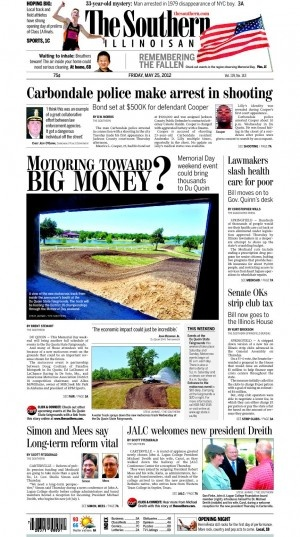 The southern illinoisan may 25 2012 newspapers pinning collaborat