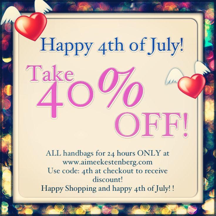 4th of july handbag sale