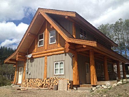 Western Red Cedar Post And Beam Cabin Artisan Custom