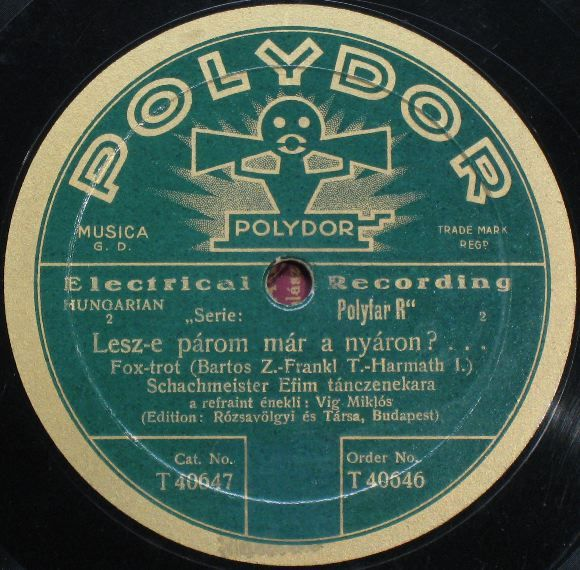 Vintage polydor record label graphic pinterest for Classic house record labels