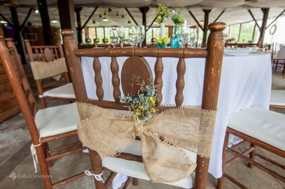 decoracao casamento rustico azul e amarelo:Casamento vintage-rústico amarelo e azul