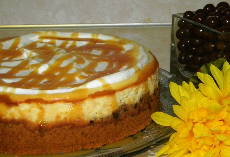 Caramel macchiato cheesecake | Recipes - Desserts | Pinterest