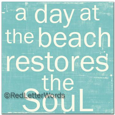 Red Letter Words | Beach Things | Pinterest