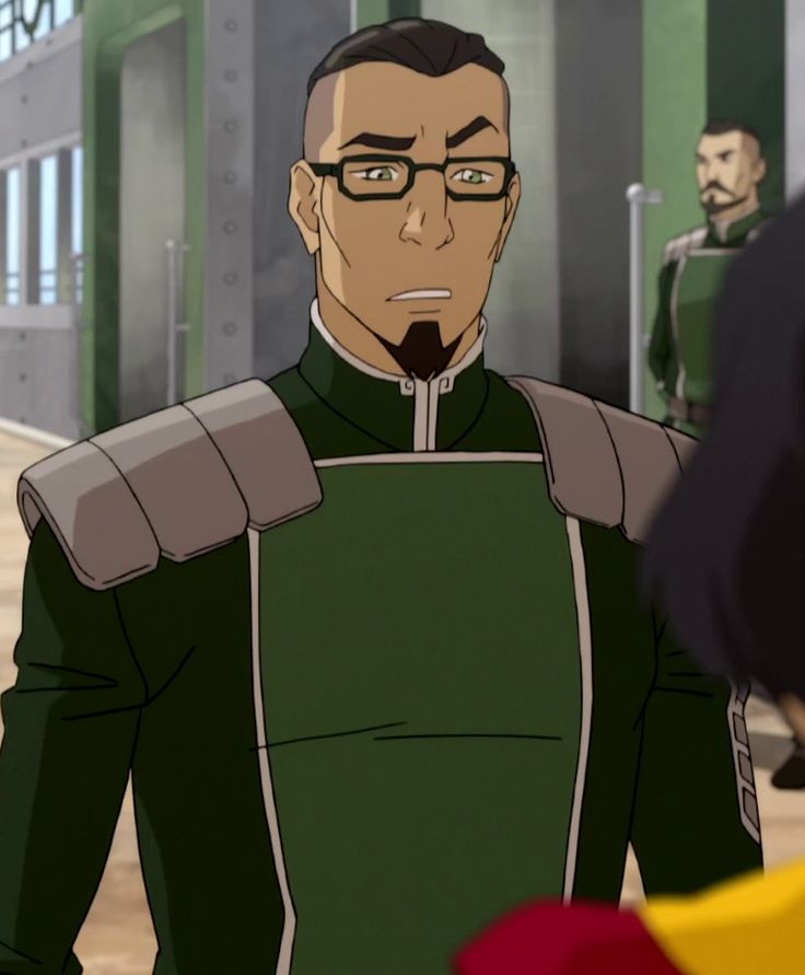 The Legend of Korra - Season 4: Baatar Jr. (Suyin's oldest son) totally Sokka's grandson!
