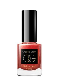 organic glam ruby slippers nail polish