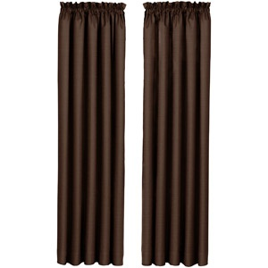 Blackout Curtain Panels With Grommets Curtain Rods at Walmart