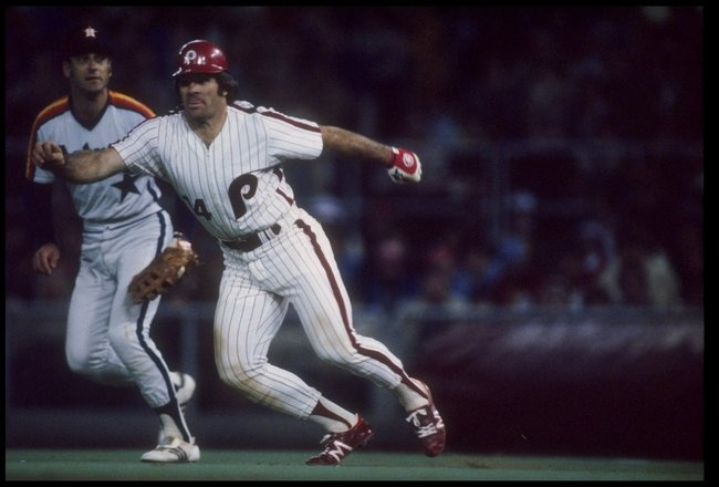 pete rose the most respected and admired player in the game