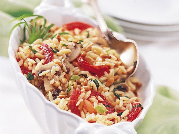 Herbed Orzo Pilaf (Crowd Size) | Recipe