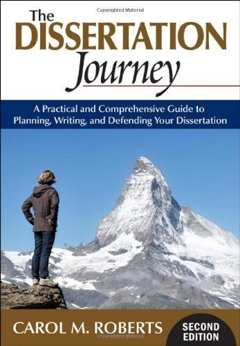 : The Dissertation Journey: A Practical and Comprehensive - Dr. Carol ...