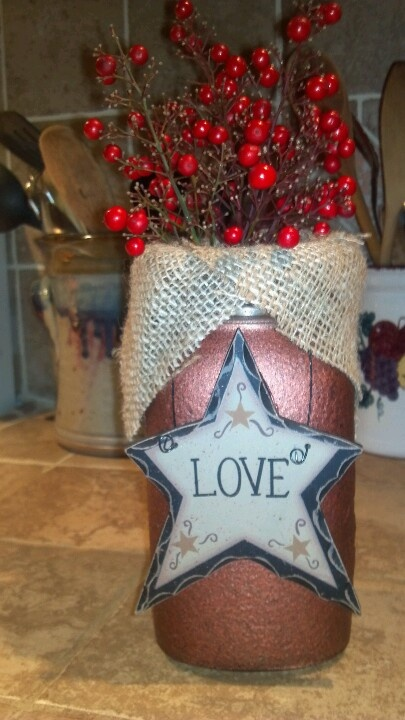 Pinterest Primitive Christmas Craft Ideas
