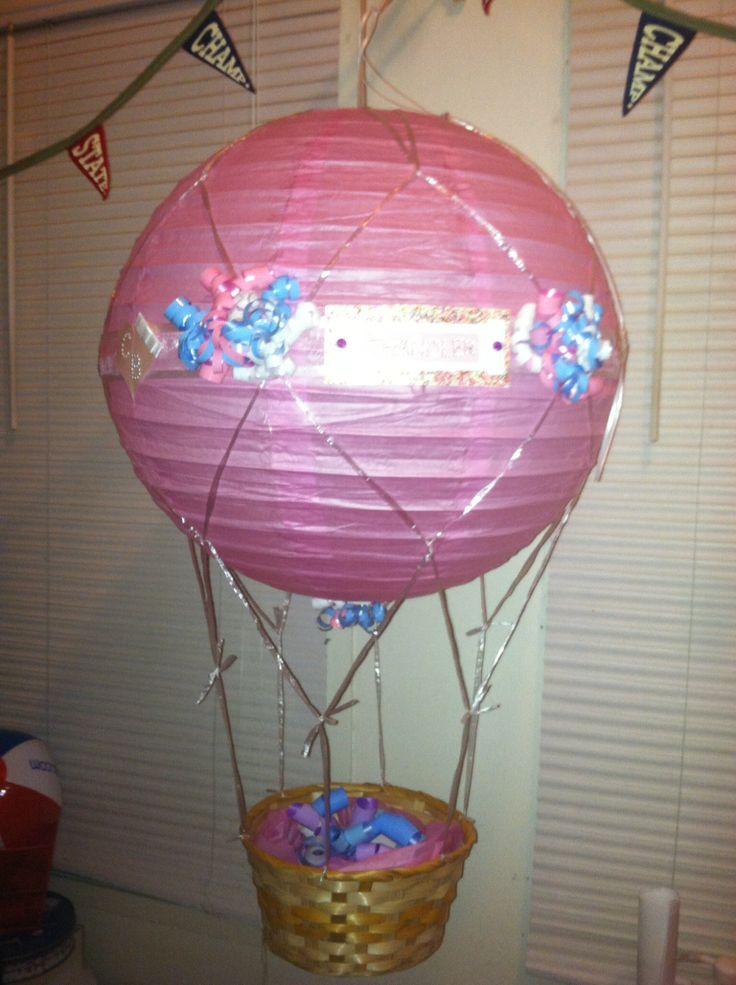 medium hot air balloon basket dc candy drops llc pinterest