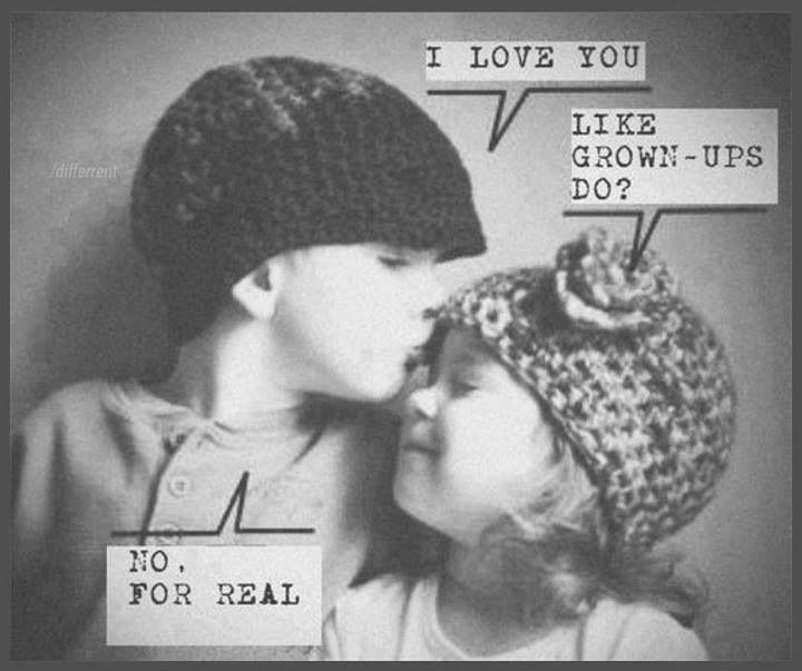 """No one loves like a child does...  ~I want """"for real"""" love~"""