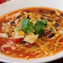 Catherine's Spicy Chicken Soup | Soup, Chili, Stew | Pinterest