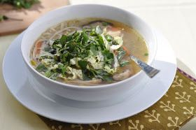 Nourishing Meals: Healing Chicken Ginger Soup