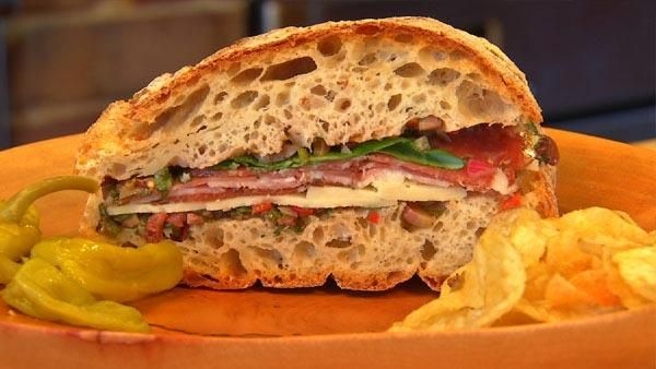 Recipe for Hearty Muffaletta Sandwich - Good Cookin' with Bruce ...