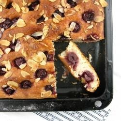 Cherry Almond Focaccia | Moving these to other boards | Pinterest