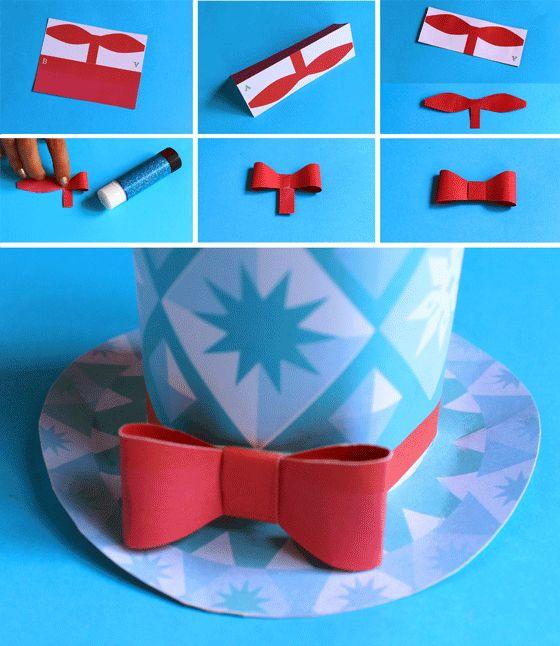 ... co uk craft ideas printables mini top hats festive paper hats