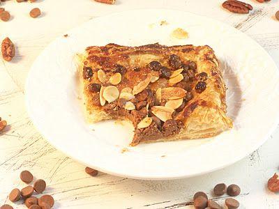 November Secret Recipe Club- Chocolate Almond Pastries