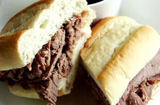 Easy Slow Cooker French Dip | Recipes to Try | Pinterest