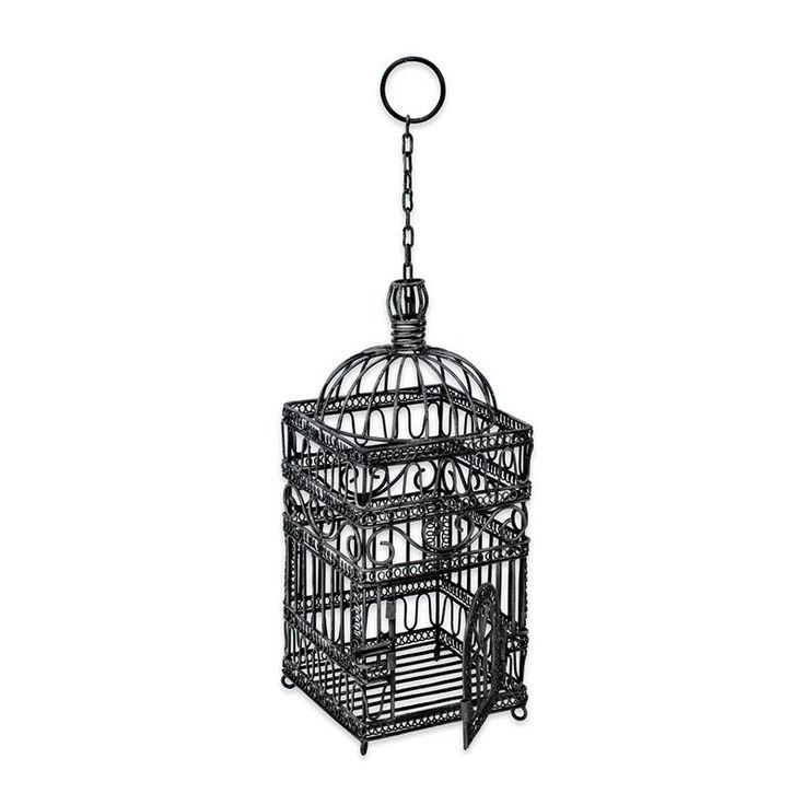 Victorian Decorative Hanging Bird Cage  www