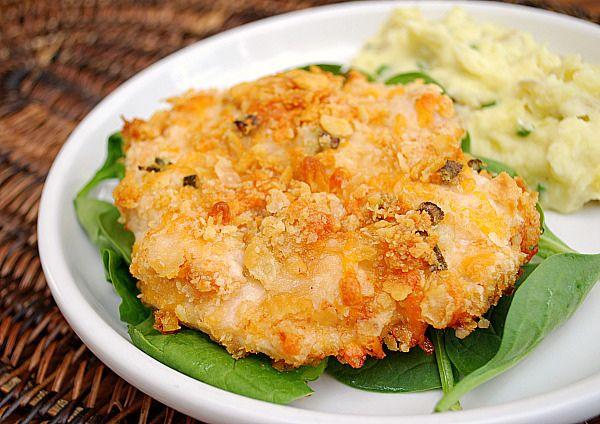 Cheddar & Cracker Chicken by ItsJoelen, via Flickr
