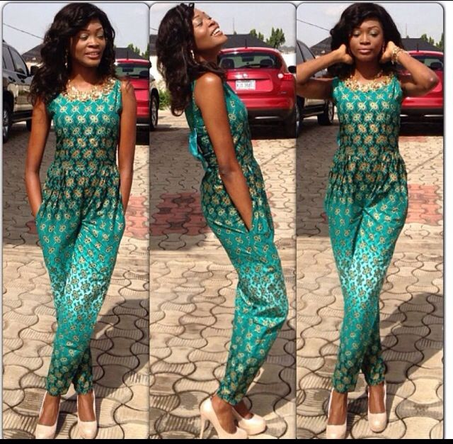 The Diary Of A Nigerian Fashionista Fashion Trend Ankara