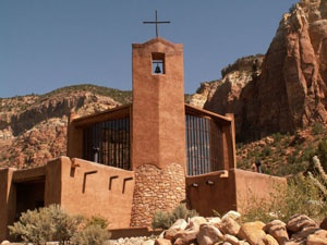 Raft down the rio chama then spend the night at the christ in the