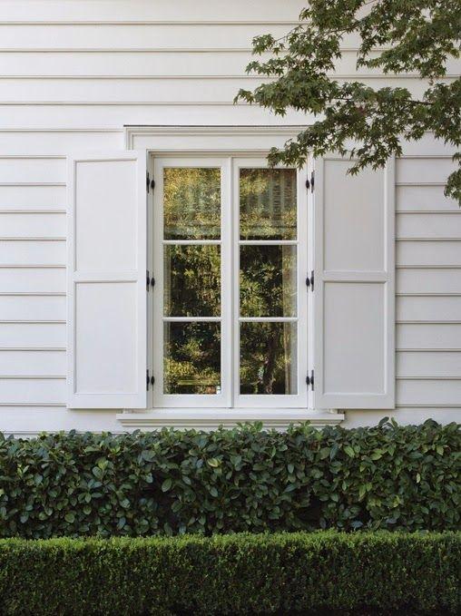 white shutters home exterior pinterest