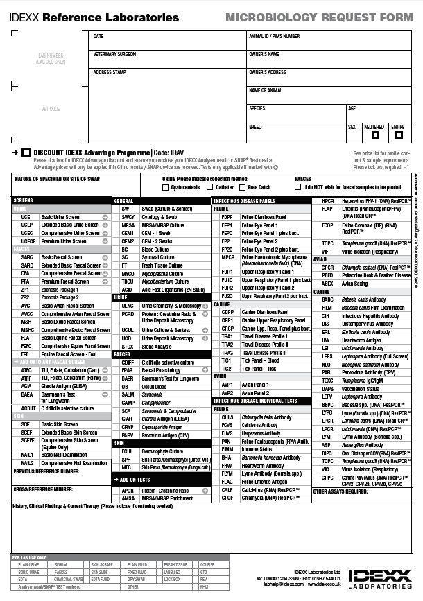 Similiar Blood Lab Request Form Keywords
