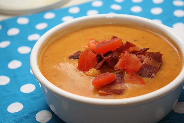 Spicy Sweet Potato Soup Recipe — Dishmaps