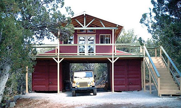 STORAGE CONTAINER BARN Modular Home Design Pinterest