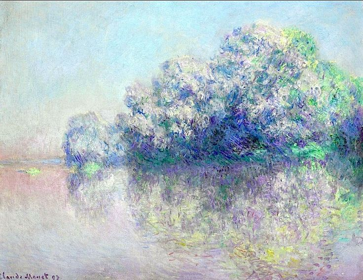 Claude Monet - L'Ile aux Orties