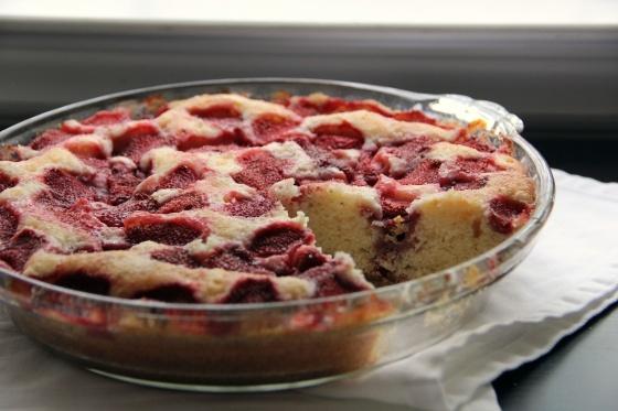 Strawberry Summer Cake | Bake it | Pinterest