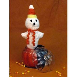 Free Crochet Pattern - Candy Corn Slippers