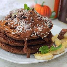 Gingerbread, chocolate, pumpkin...pancake heaven!